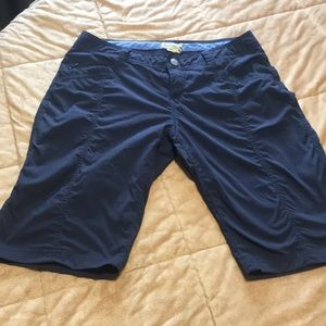Royal Robbins Stretch Bermuda Shorts